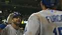 Dodgers' five-run seventh