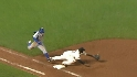 Uribe&#039;s strong throw