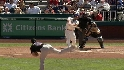 Victorino&#039;s two-run homer