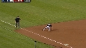 Beckham&#039;s slick fielding