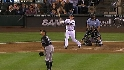 Carp&#039;s first career homer