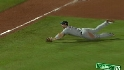 Wright's acrobatic play