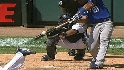 Olivo&#039;s three-run shot