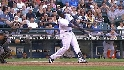 Hall&#039;s game-tying homer