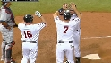 Cuddyer's three-run dinger