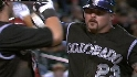 Giambi&#039;s two-run tater