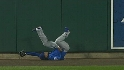 Fukudome&#039;s great catch