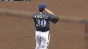 Counsell flashes the leather