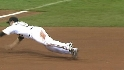 Walker's diving catch