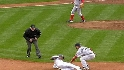 Varitek throws out Cano