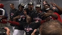 Angels celebrate AL West crown