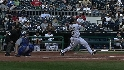 LaRoche goes deep