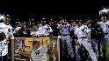 Yanks honor Jeter, Rivera, Melky