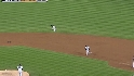 Polanco's leaping catch