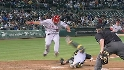 Morales steals home