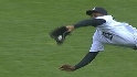 Granderson's diving grab