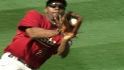 Bourn's sliding catch