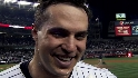 Teixeira on his walk-off homer
