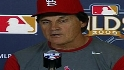 La Russa on team's position