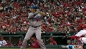 LAD@STL Gm 3: Ethier hits a two-run home run to right