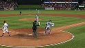 Martin, the ump throw to Padilla