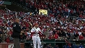 Holliday gets an ovation