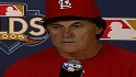 La Russa on Game 3 loss