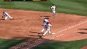 Pedroia ends the inning