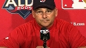 Francona reflects after sweep