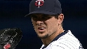 Pavano gets the strikeout