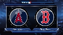 LAA@BOS Gm 3: Angels sweep aside the Red Sox