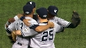 TV, radio calls of Yankees' win