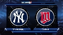 NYY@MIN, Gm 3: Pettitte helps send Yanks on to ALCS