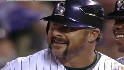 PHI@COL Gm 4: Giambi's eighth-inning single ties it