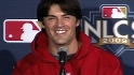 Hamels on upcoming Game 1 start