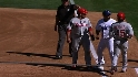 Ump&#039;s call negates double play
