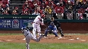 Howard's two-run triple