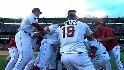 Mathis&#039; walk-off double