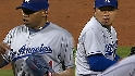 Dodgers use two relievers
