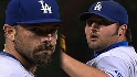 Dodgers pitchers escape the jam