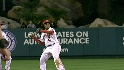 Aybar barehands and fires