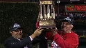 NLCS Gm 5: Phillies receive their NLCS trophy