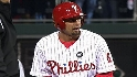 Victorino's ground-rule double