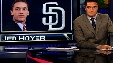 Hoyer hired as Padres' GM