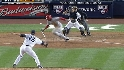 Figgins runs into the ball