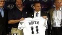 Hoyer on being named Padres GM