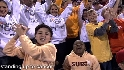 Fans at Game 3 Stand Up 2 Cancer