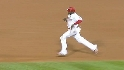 Howard steals second