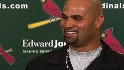 Pujols on winning the NL MVP