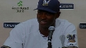 Hawkins on joining the Brewers